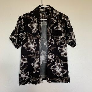 Milano Bay Monochrome Hawaiian Shirt